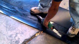 Tarpauline welding